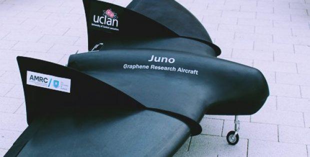 worlds first graphene skinned aircraft