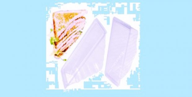 sandwich packaging reduce plastic waste